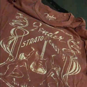 Lucky brand Fender vintage T-shirt